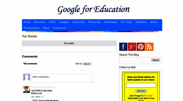 googleforgenius blogspot com - Google for Education - Google