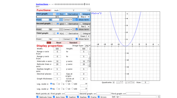 graph-plotter cours-de-math eu - Online graph plotter is a