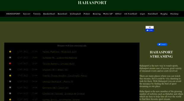 nuovo stile 07974 36014 hahasports.net HAHASPORT FREE STREAMS