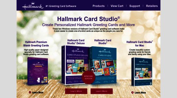 Hallmarksoftware hallmark software greeting c hallmark hallmark software greeting card software card making software m4hsunfo