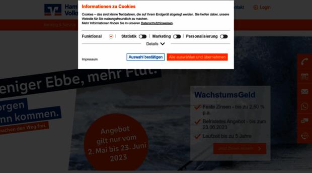 Hamburger volksbank login