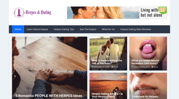 Dating website herpes