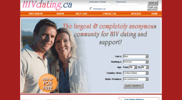 Hiv positive dating canada