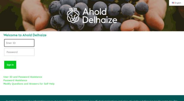 Homeaccessgiantfoodstorescom Ahold Delhaize Us Login