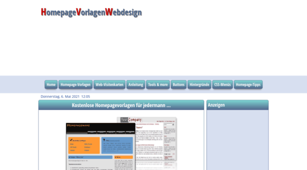 homepage-vorlagen-webdesign.de - Kostenlose Homepagevorlagen fü ...