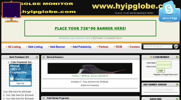 Hyip monitor earn money