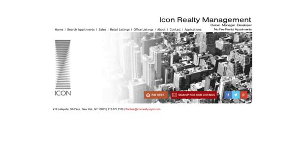 iconrealtymgmt com - No Fee NYC Apartments for Rent    - Icon Realty
