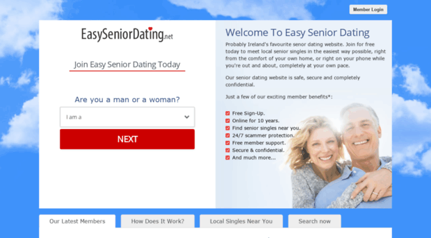 Free online dating sites seniors
