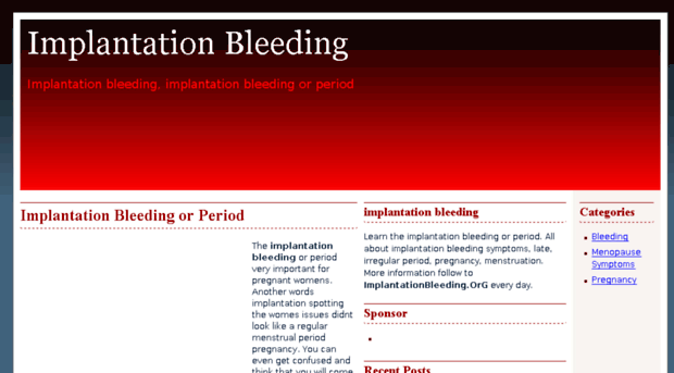 implantationbleeding.org