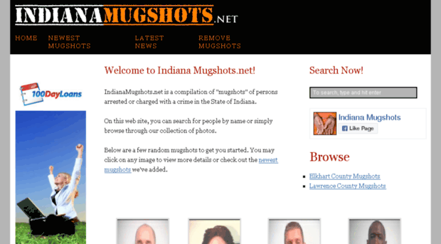 indianamugshots net - Indiana Mugshots and Booking P    - Indiana