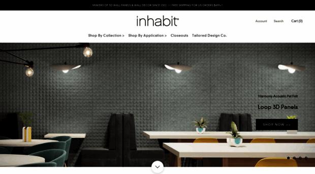 Inhabitliving.com   Inhabit | 3D Wall Panels | Woo...   Inhabit Living