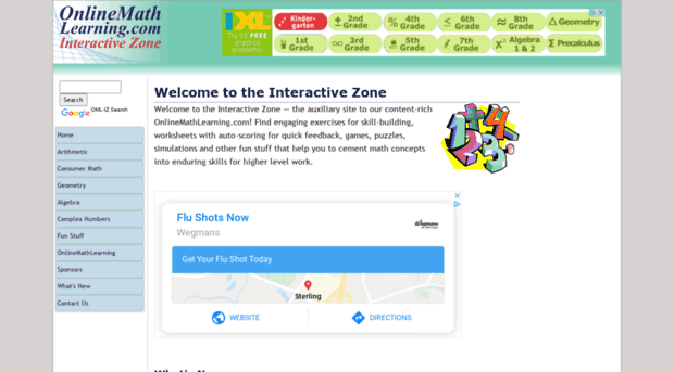 math worksheet : interactive math info  online math learning interacti  : Interactive Math Worksheets