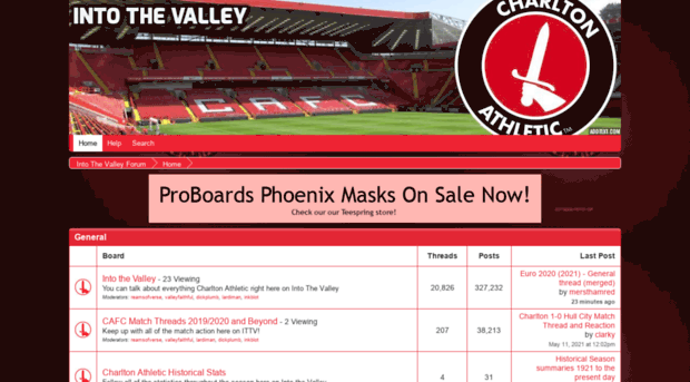 intothevalley proboards com - Home | Into The Valley Forum