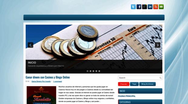 Ganar dinero en casinos por internet personalized chocolate casino poker chip