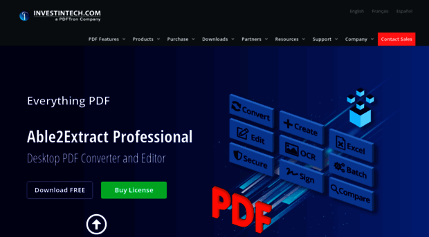pdf converter to excel free trial