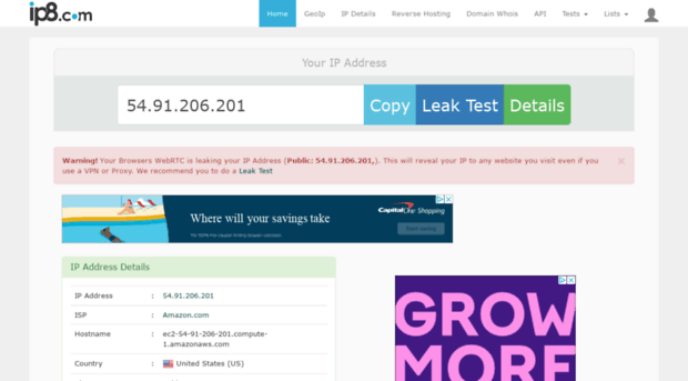 ip8 com - ip8 - IP Lookup Tool - IP 8