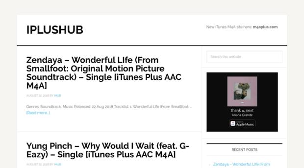 iplushub com - iPlusHub - iTunes Plus AAC M4A    - IPlusHub