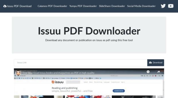 issuu-download tiny-tools com - Issuu PDF Download - Issuu