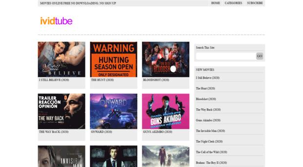 free movies online no registration no download