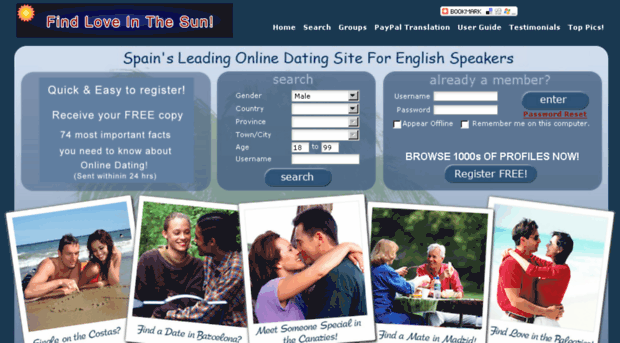 English dating websites