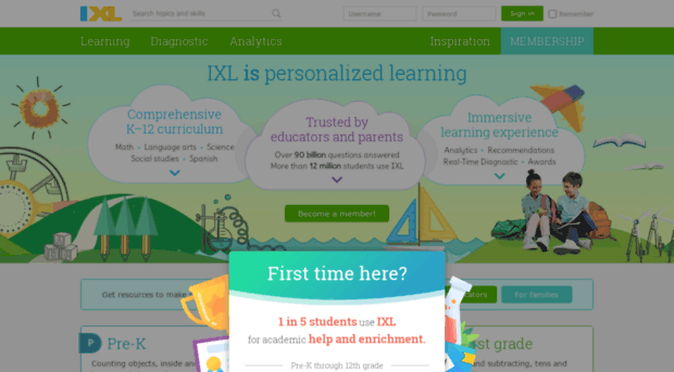 IXL Math Language Arts Science Social Studies and ...