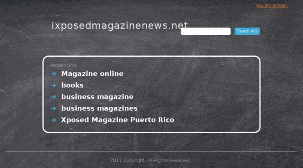 Xposed magazine 2017 | Xposed News  2019-05-13