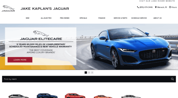Jaguar Dealership Warwick RI Used Cars Jake Kaplanu0027s Jaguar