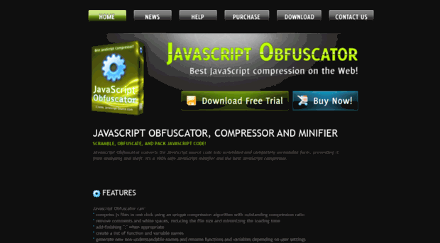 javascript-source com - Javascript Obfuscator - Stop theft of your