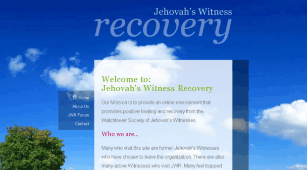 Ex jehovahs witnesses dating and chat