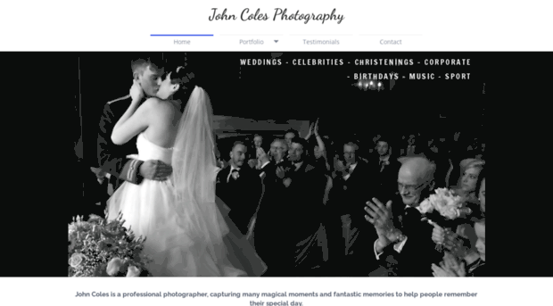 John cole wedding