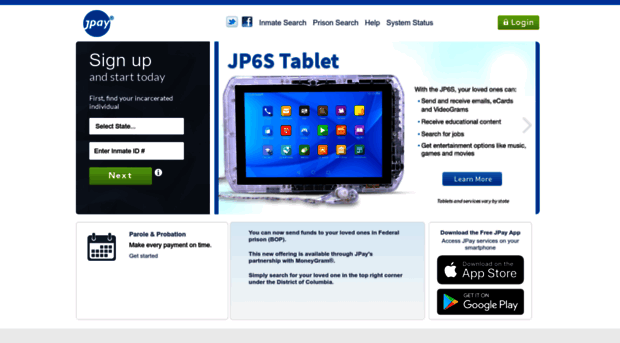 jpay com - JPay   Your Home For Correctio    - JPay