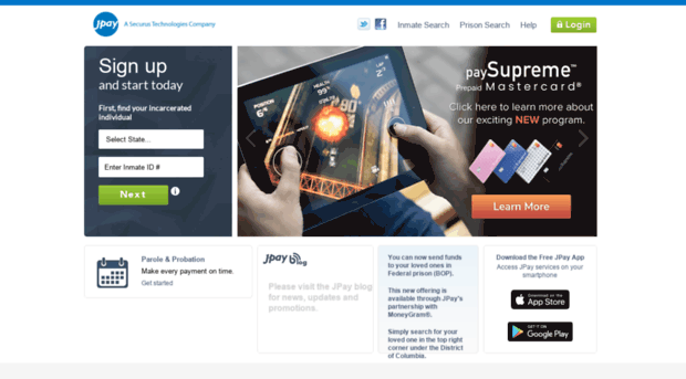 JPay iPhone App - App Store Apps