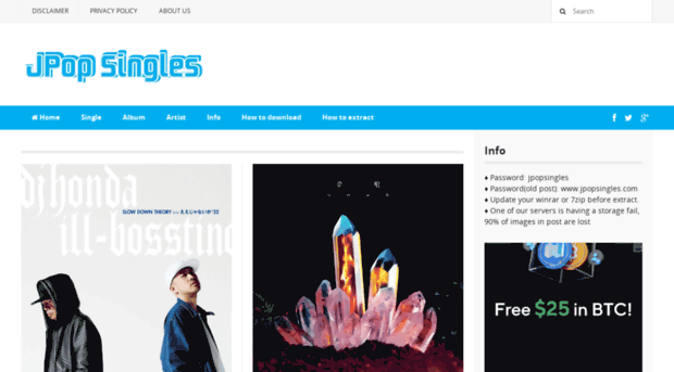 jpopsingles eu - Downloads J-Rock J-Pop Music [    - J Pop