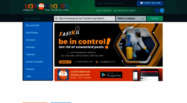 juantambayan com Juan Tambayan Free Listing, Classified Ads, Buy and