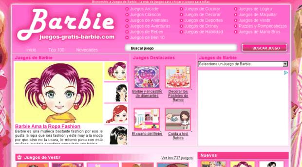 Juegos Gratis Barbie Com Juegos De Barbie Los Mejores