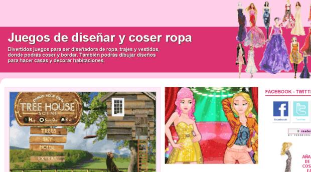 Juegosdisenarcoserropacom Juegos De Diseñar Y Coser Ropa