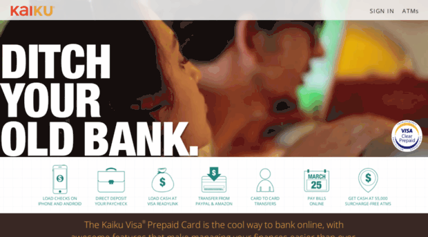 this website is safe and with a generally positive reputation - Kaiku Visa Prepaid Card