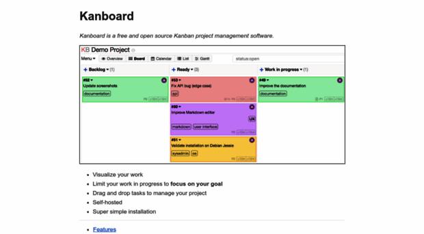 kanboard net - Kanban Project Management Soft    - Kanboard