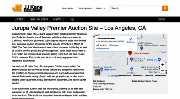 Kenporterauctions Com Police Auctions Online Auctio Ken