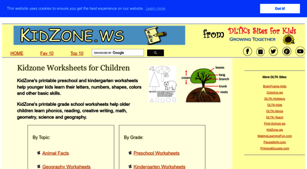 math worksheet : kidzone kindergarten math  k5 worksheets : Kidzone Worksheets Kindergarten