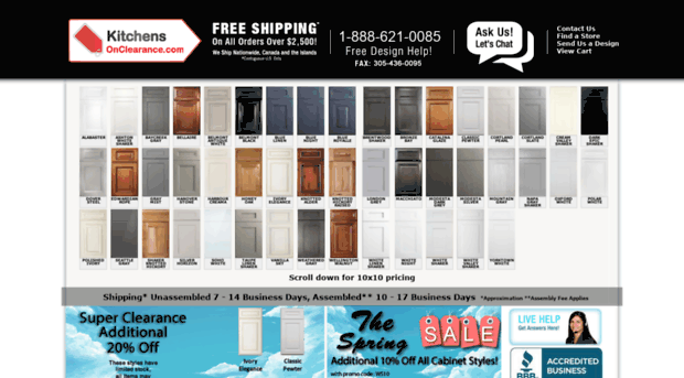 Kitchensonclearance.com   Looking For Kitchens Cabinets ...   Kitchens On  Clearance