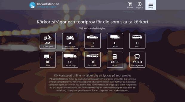 körkortsprovet online gratis