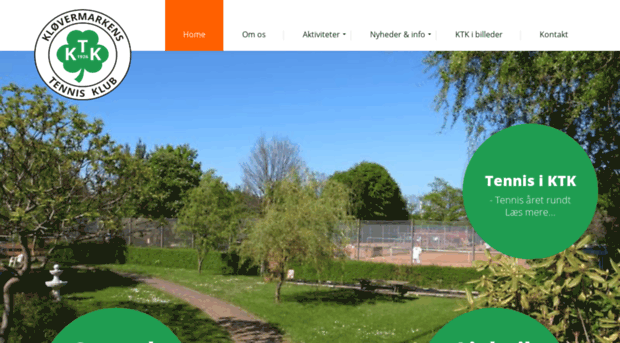 kløvermarken tennis