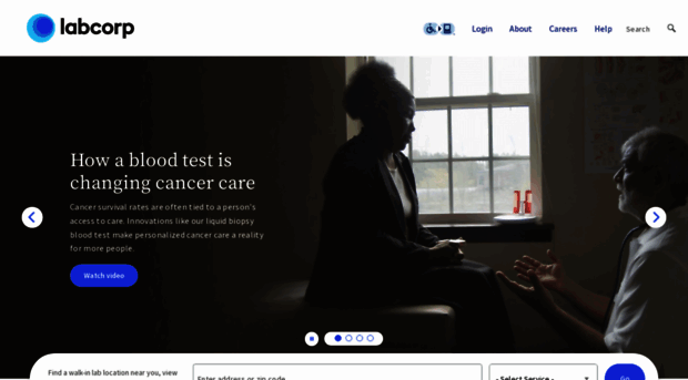 Labcorp: labcorp home page