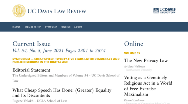 lawreview.law.ucdavis.edu