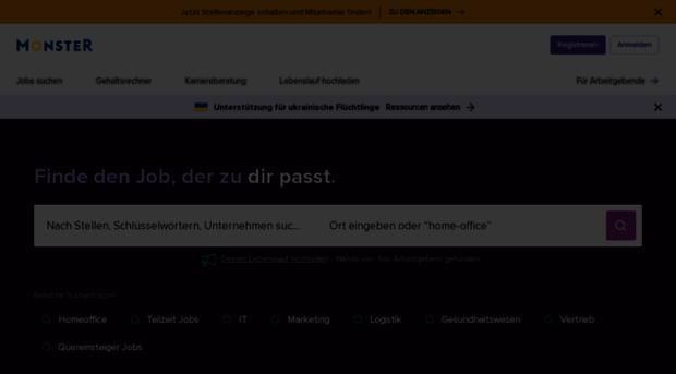 lebenslauf.monster.de - Lebenslauf erstellen oder CV h ...