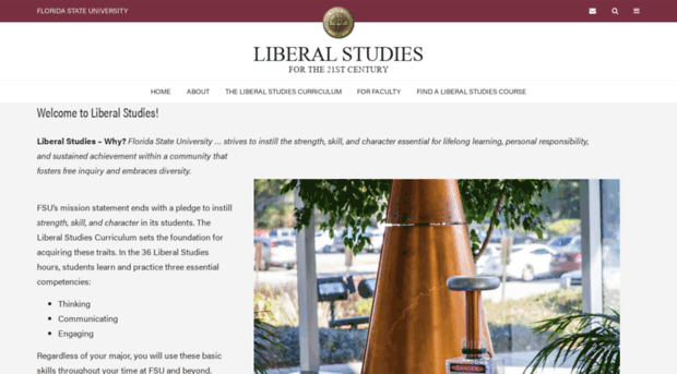 liberal studies For more information, call the department of interdisciplinary studies: (678) 466-4883  program description the liberal studies program allows students to create an individualized curriculum composed of courses and experiences which meet their individual career needs.