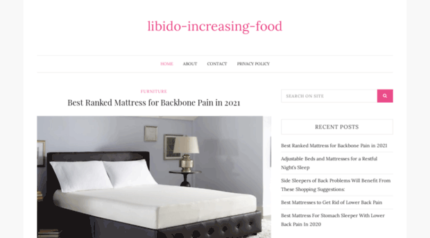 foods that increase libido