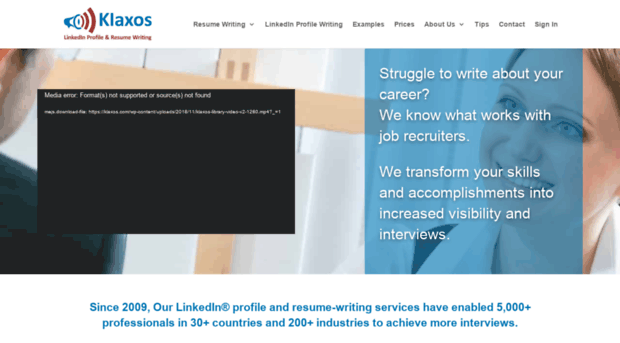 Linkedinprofileservice Co Klaxos Linkedin Profile