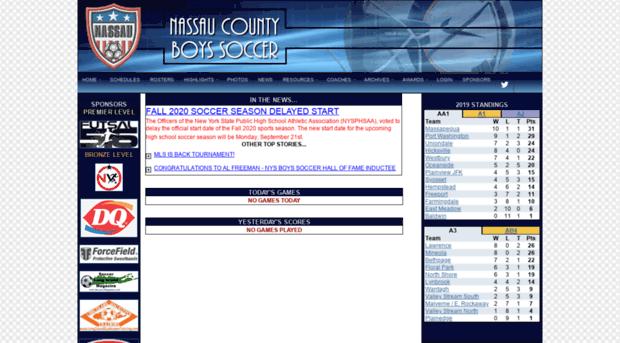 lisoccer org lisoccer.org - Nassau County Boys Soccer - Li Soccer